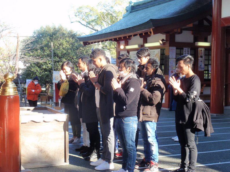 2020年1月9日に浅間神社へ行ってきました!