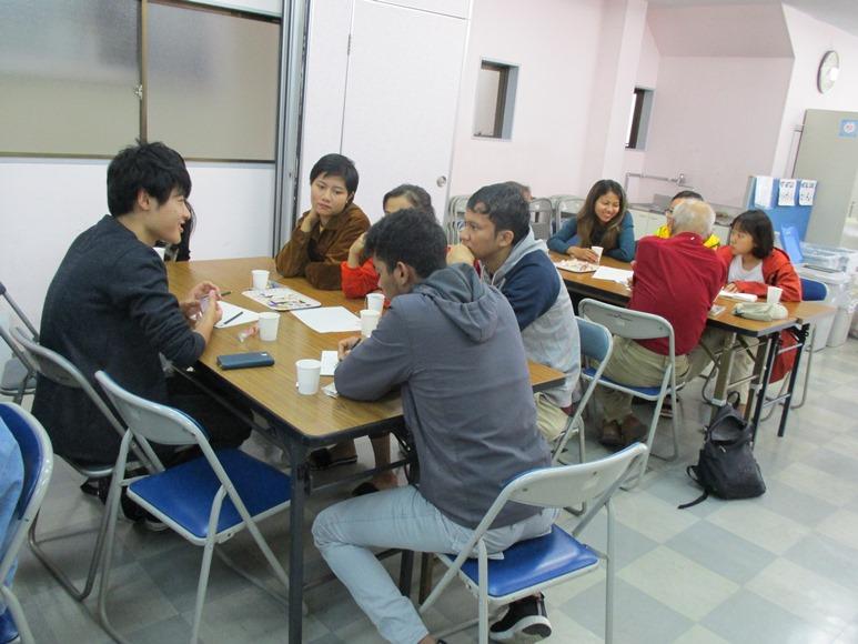 10月26日は外国人留学生との交流イベント「おしゃべり!クラブ」でした!