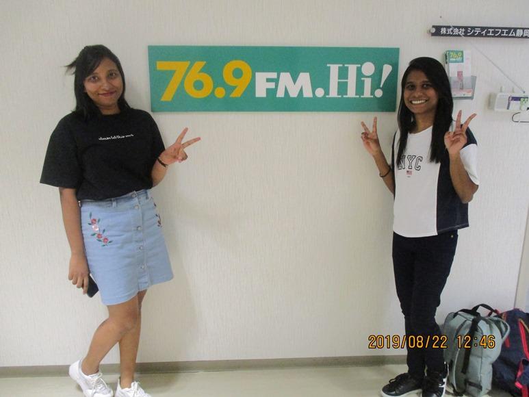 8月22日ラジオ出演しました!