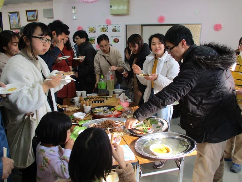 2020年1月25日(土)に新年お祝いパーティーをしました!