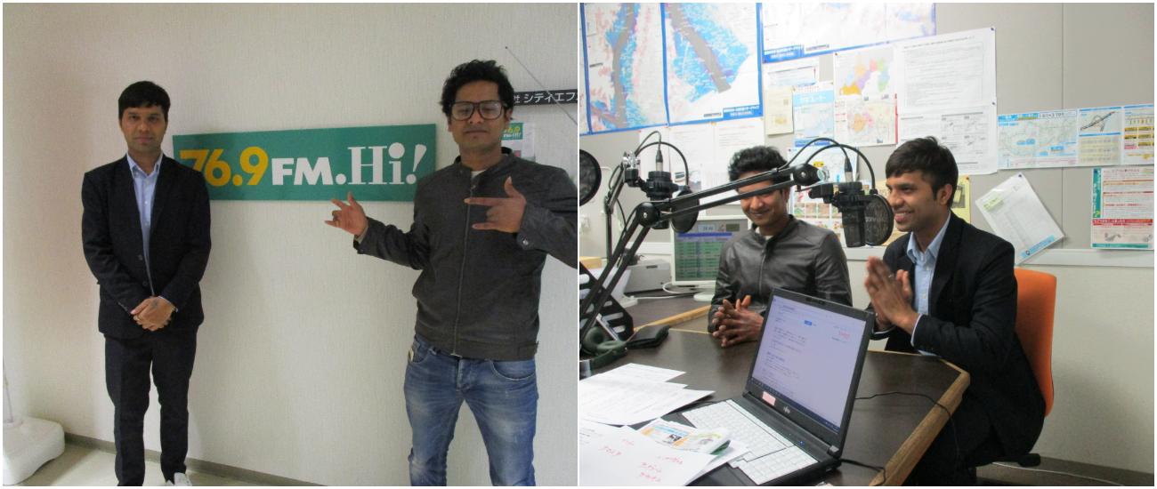 2月27日(木)ラジオ出演しました!