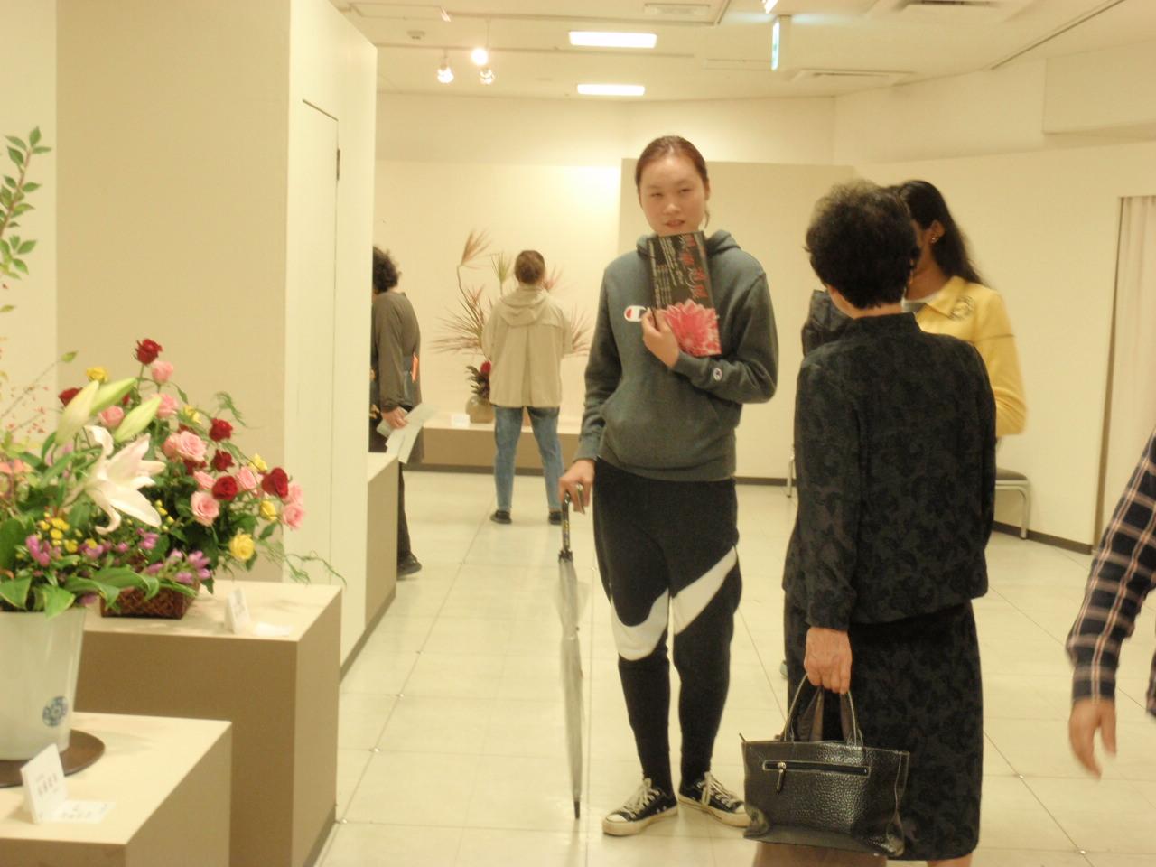 静岡県華道展へ行ってきました!