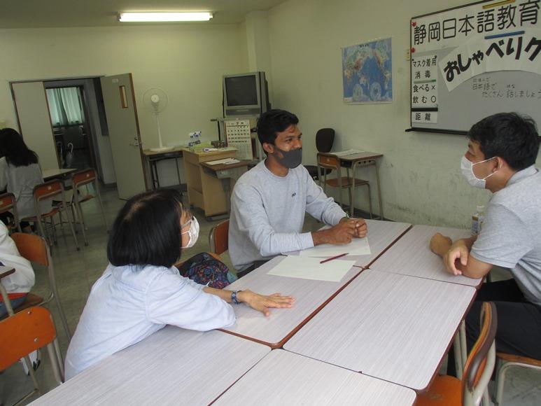 7月11日(土)は外国人留学生との交流イベント「おしゃべり!クラブ」でした!