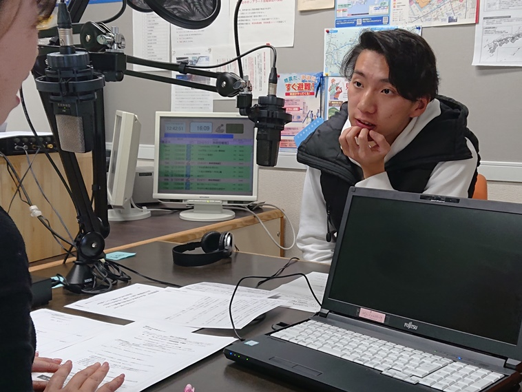 12月26日(木)ラジオ出演しました!