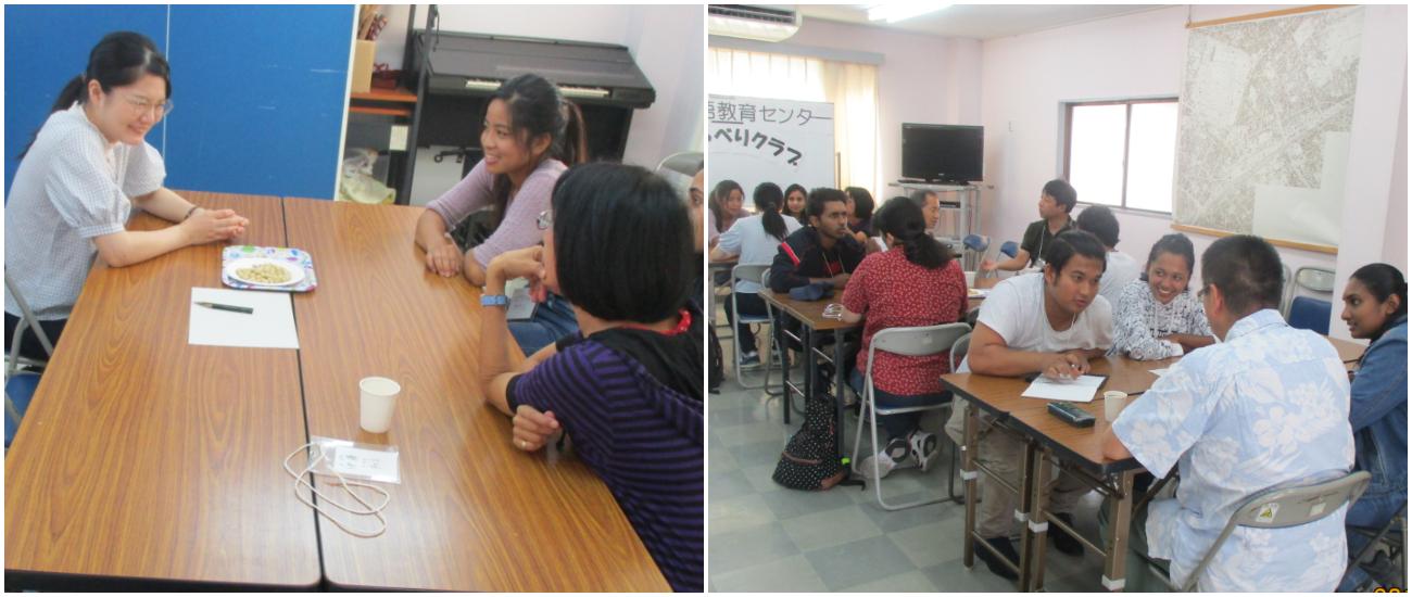 9月14日(土)は交流イベント「おしゃべり!クラブ」でした!