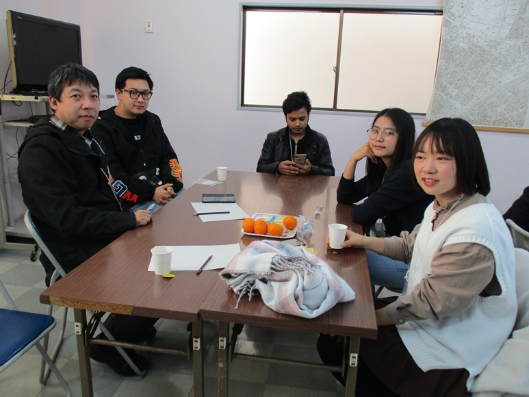 12月14日(土)は外国人留学生との交流イベント「おしゃべり!クラブ」でした!
