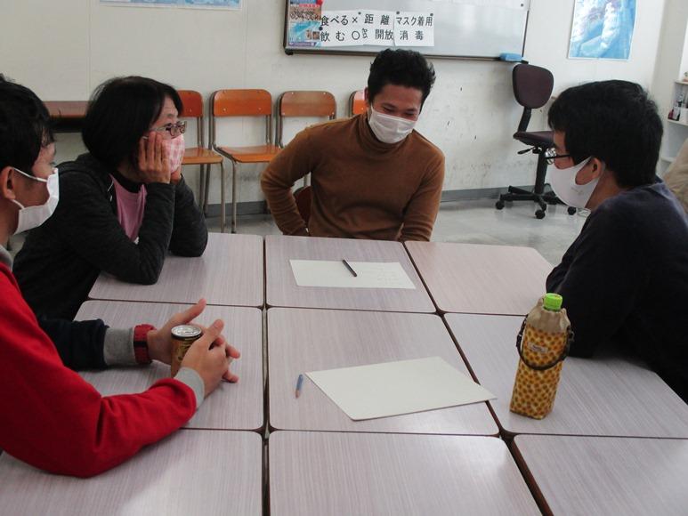 10月24日(土)は外国人留学生との交流イベント「おしゃべり!クラブ」でした!