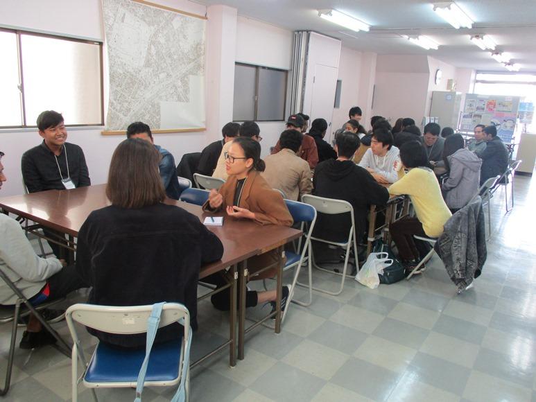 11月16日は外国人留学生との交流イベント「おしゃべり!クラブ」でした!