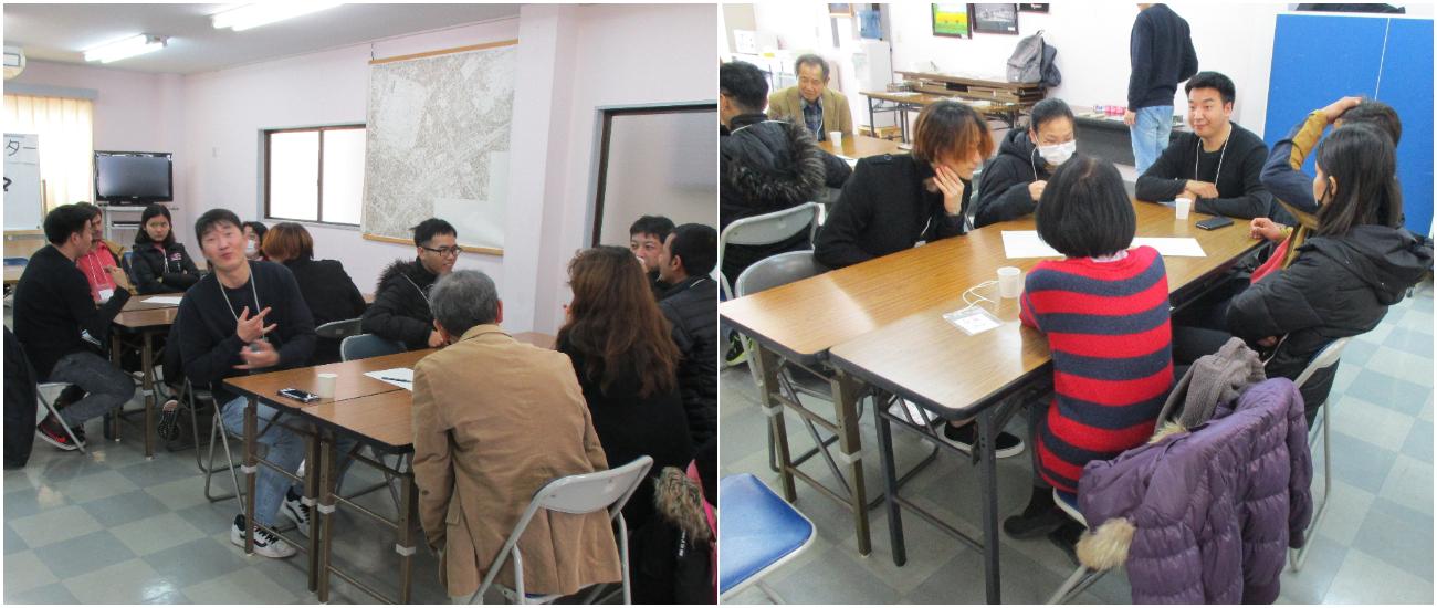 2月22日(土)は外国人留学生との交流イベント「おしゃべり!クラブ」でした!